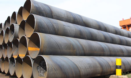 SSAW Steel Pipe BS 4360, spiral welded pipe,sawh steel pipe