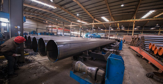JCOE Welded Pipe, IS: 3589 LSAW Steel Pipe, SAW Steel Pipe