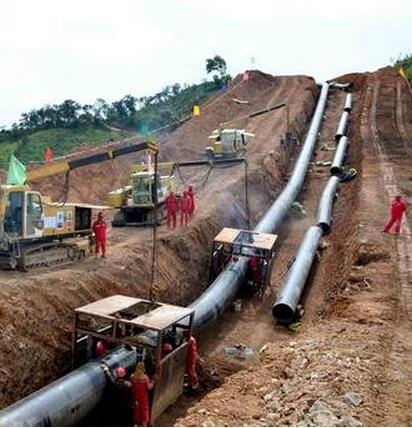 PIPELINE FOR OIL AND GAS