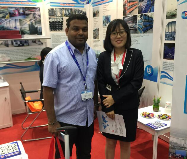 Oil and Gas Show,SSAW Steel pipe,seamless steel pipe