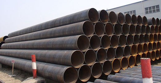 SSAW steel pipe, seamless steel pipe