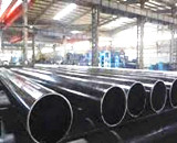 Black ERW Steel Pipe Factory Situation